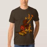 iron shaolin bunny fury t-shirts