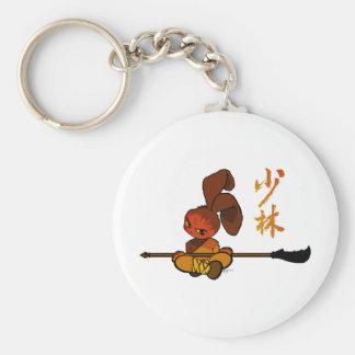 iron shaolin bunny kwan dao key ring