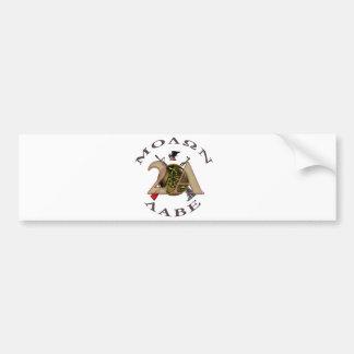 Iron Sights/Molon Labe Bumper Sticker