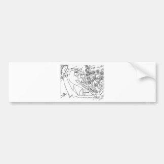 Iron Woman Bumper Sticker