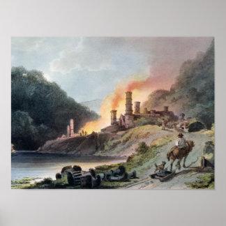Iron Works Coalbrookdale Print