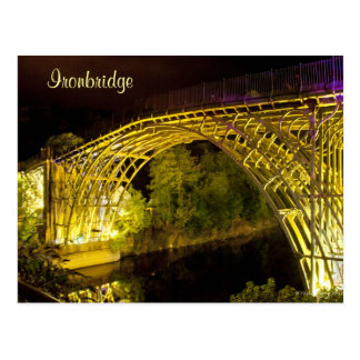 Ironbridge in Lights Postcard