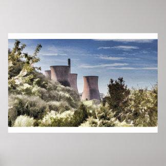 Ironbridge Power Station Posters
