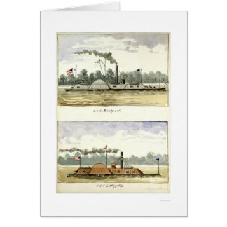 Ironclad Eastport by D.M.N. Stouffer 1864 Card