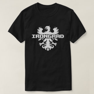 """""""Irongrad Eagle"""" T-Shirt in White"""