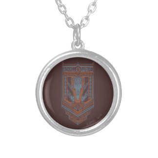 Ironhill Dwarves Shield Icon Silver Plated Necklace