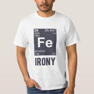 Ironic Chemical Element FE Irony T-Shirt