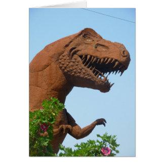 Ironic Dino Card