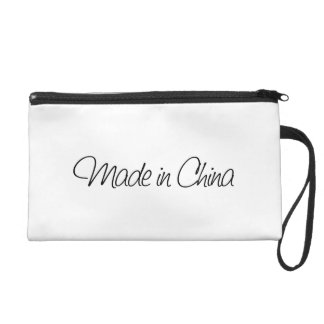 Ironic Made in China Wristlet