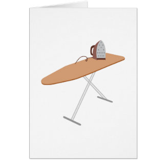 Ironing Board Card