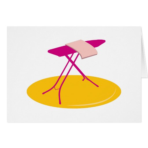Ironing Board Greeting Cards