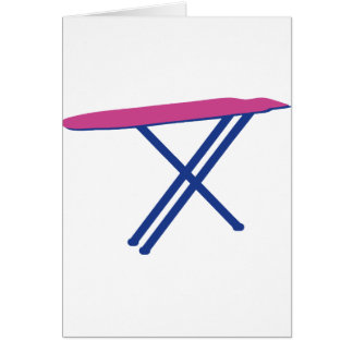 ironing-board card