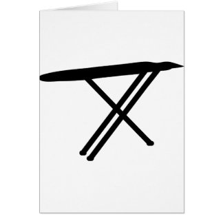 ironing board greeting card