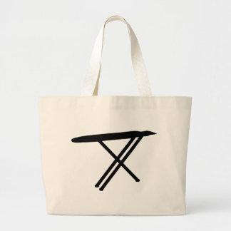 ironing board icon jumbo tote bag