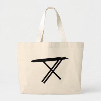 ironing board icon large tote bag