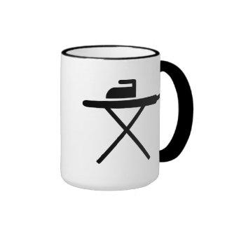 Ironing board coffee mug