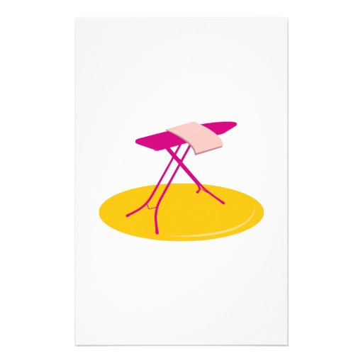 Ironing Board Stationery Paper