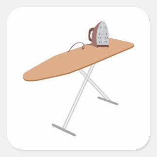 Ironing Board Square Sticker