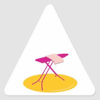 Ironing Board Triangle Stickers