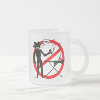 Ironing Hazard Mousepads and Cups Mug