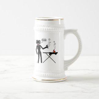 Ironing Hazard Mousepads and Cups Coffee Mugs