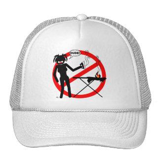 Ironing Hazard T-shirts and Apparel Trucker Hat