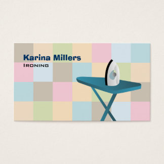 Ironing Service Business Cards