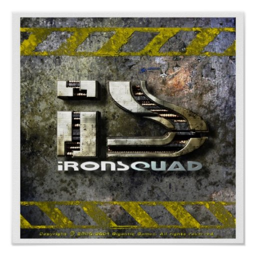 IronSquad Poster