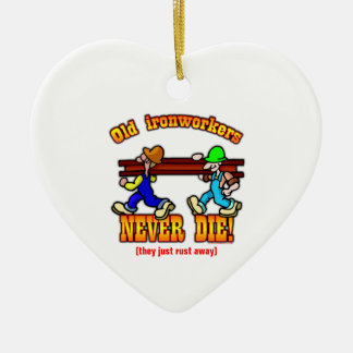 Ironworkers Christmas Ornament
