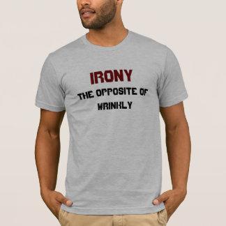irony funny definition T-Shirt