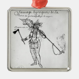 Iroquois Indian of Canada Christmas Ornament