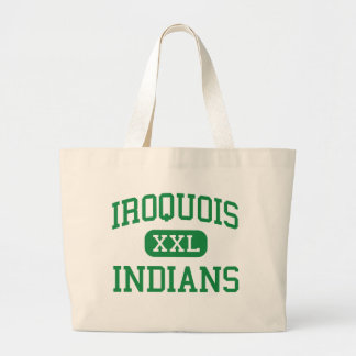 Iroquois - Indians - Junior - Des Plaines Illinois Jumbo Tote Bag