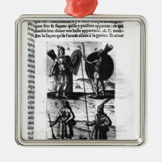 Iroquois of New France Christmas Ornament