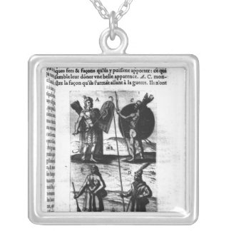 Iroquois of New France Silver Plated Necklace