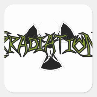 Irradiation Square Sticker