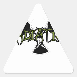 Irradiation Triangle Sticker
