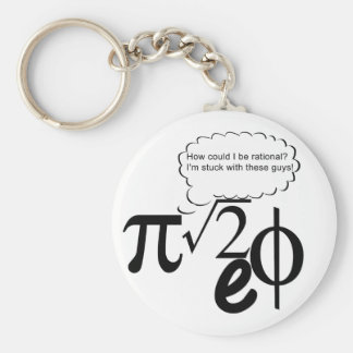 Irrational Buddies Key Ring