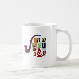 Irregular Basic White Mug