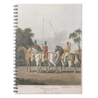 Irregular Cavalry, Bengal Army 1817, plate 5 from Notebook
