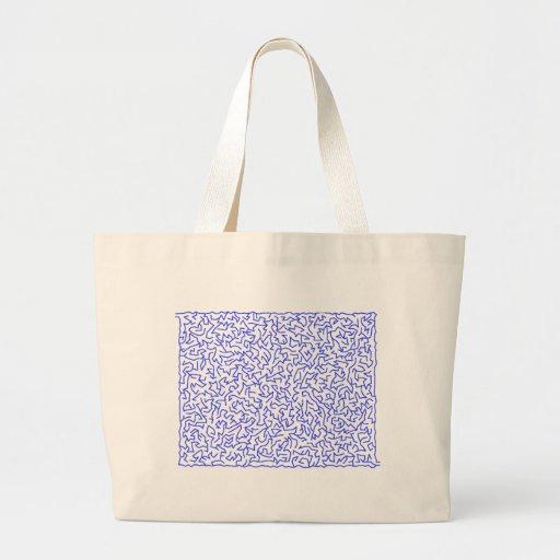 irregular labyrinth irregular maze bag