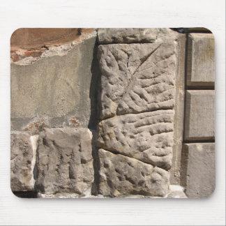 Irregular Stone Blocks Wall Elevation Photo Mouse Mouse Pad