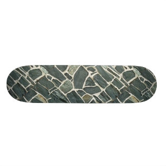 Irregular Stones Wall Texture 21.6 Cm Skateboard Deck