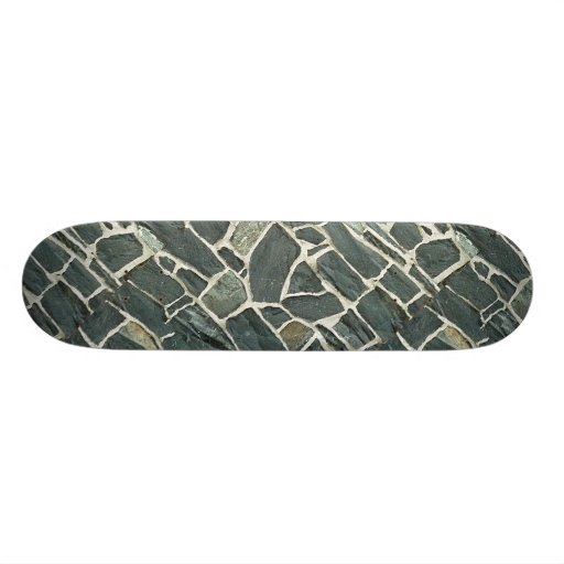 Irregular Stones Wall Texture Skateboard Decks