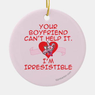 Irresistible Christmas Ornament