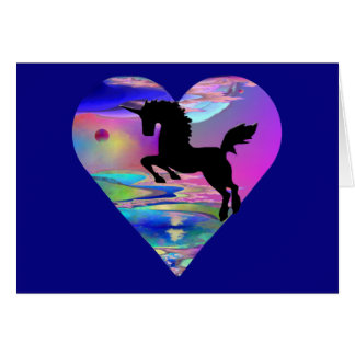 Irresistible Utherworld Unicorn Art Greeting Card