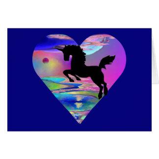 Irresistible Utherworld Unicorn Art Greeting Card