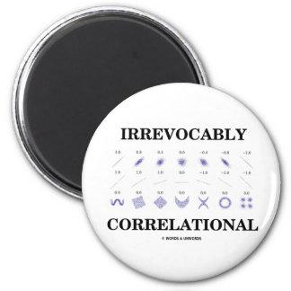 Irrevocably Correlational (Correlation Statistics) 6 Cm Round Magnet