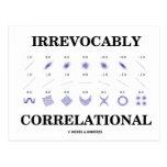 Irrevocably Correlational (Correlation Statistics) Postcard