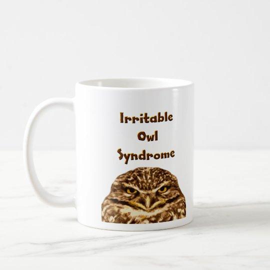 Irritable Owl Coffee Mug