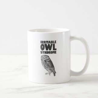 Irritable Owl. Funny pun Coffee Mug